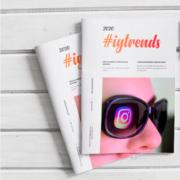 Portada del estudio Tendencias Instagram 2020